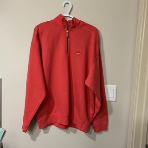 Tommy Bahama 1/4 zip up sweater
